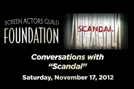 Do The Work: Transcripts from Scandal cast at SAG Foundation Q&A